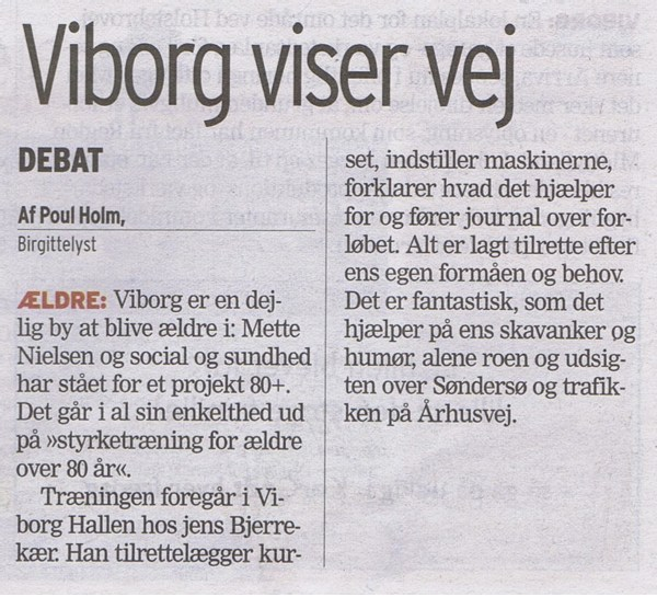 Viborg viser vej